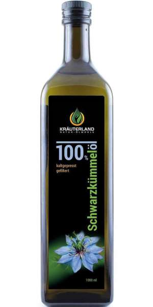 Schwarzkümmelöl gefiltert 1000ml