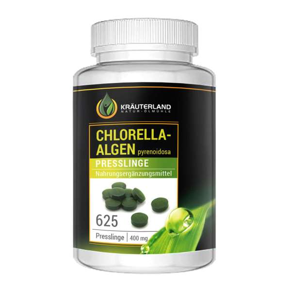 Chlorella Algen Presslinge