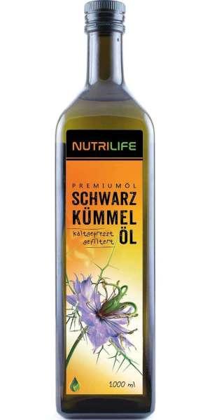 Schwarzkümmelöl gefiltert Nutrilife