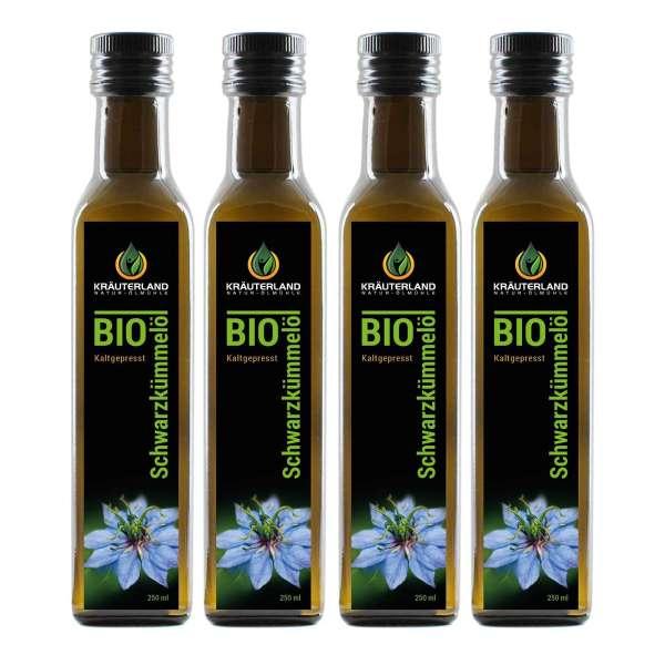 BIO-Schwarzkümmelöl ägyp. - gefiltert 1 Liter