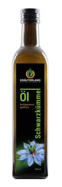 Kräuterland Schwarzkümmelöl gefiltert 500ml