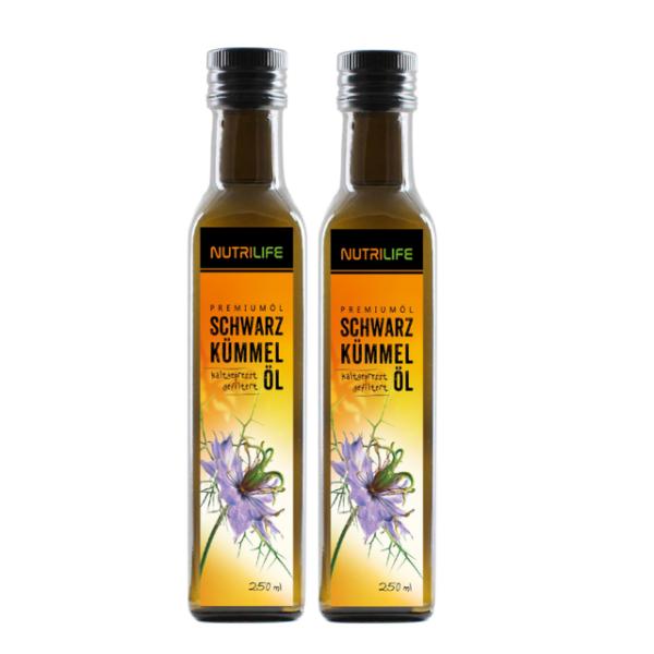 Schwarzkümmelöl gefiltert 2x 250 ml