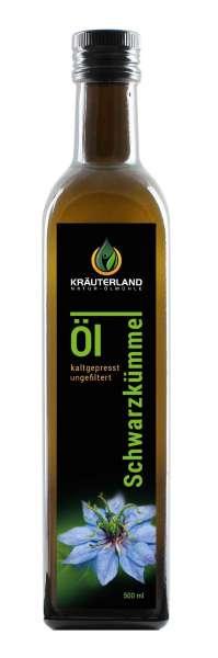 Schwarzkümmelöl ungefiltert 500ml