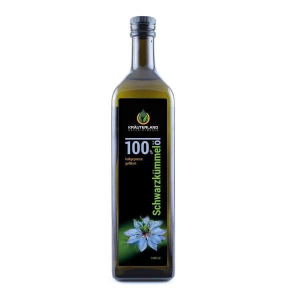 Schwarzkümmelöl - gefiltert 1 Liter Kräuterland