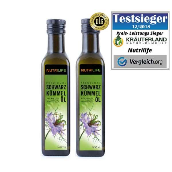 Schwarzkümmelöl ungefiltert 2 x 250ml
