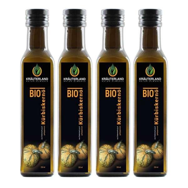 BIO-Kürbiskernöl, kaltgepresst 1 Liter