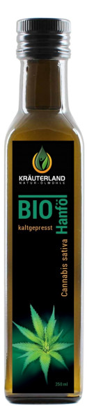 BIO-Hanföl kaltgepresst 250ml